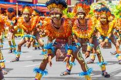 24. Januar 2016 Iloilo, Philippinen Festival Dinagyang Unid Lizenzfreie Stockfotos