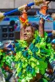 24. Januar 2016 Iloilo, Philippinen Festival Dinagyang Unid Stockfotografie