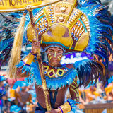 24. Januar 2016 Iloilo, Philippinen Festival Dinagyang Unid Lizenzfreies Stockbild