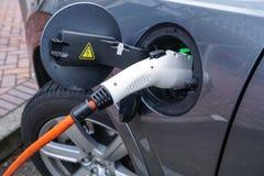 19. Januar 2018 - Portland oder: Elektro-Mobil-Aufladung Lizenzfreies Stockbild