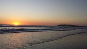 Januar-Sonnenaufgang Lizenzfreies Stockbild