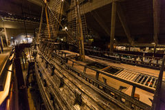 21. Januar 2017: Vasaschiffsmuseum in Stockholm, Schweden Lizenzfreie Stockfotos