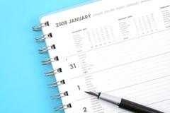 Januari 2008 Stock Foto