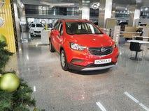 21 januari, de autotoonzaal Opel van de Oekraïne Kiev van 2018 Royalty-vrije Stock Foto's