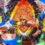 24 januari 2016 Iloilo, Filippijnen Festival Dinagyang Unid Stock Fotografie