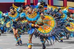 24 januari 2016 Iloilo, Filippijnen Festival Dinagyang Unid Royalty-vrije Stock Afbeelding