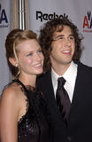Januari Jones, Josh Groban Royaltyfri Bild