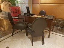 15 januari 2017, Kuala Lumpur In blik van Hotel Sunway Putrael Sunway Stock Foto's