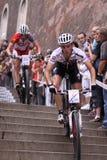 Januari Skarnitzl - de fietsras 2011 van Praag Stock Fotografie
