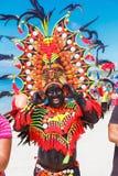 Januari 10th 2016 Boracay Filippinerna Festival ATI-Atihan U Arkivbild