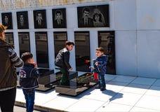 20 Januari tragedi i Baku Shehidlar Hiyabani Arkivfoton