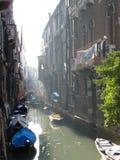 januari venezia Arkivbilder