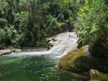 Free January 7, 2016, Itatiaia, Rio De Janeiro, Brazil, Itaporani Waterfall In The Middle Of The Forest Of Itatiaia National Park. Stock Images - 124483044