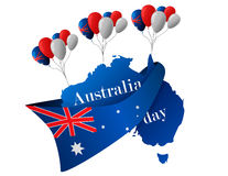 26 january. Australia Day Royalty Free Stock Photography