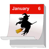 January 6, Day of the Epiphany Royalty Free Stock Photography
