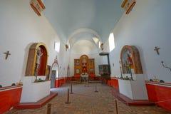 Mission Nuestra Senora del Espiritu Santo de Zuniga in Goliad Texas Stock Photo