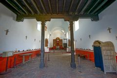 Mission Nuestra Senora del Espiritu Santo de Zuniga Stock Photo