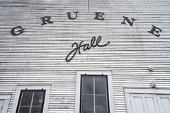 The Gruene Hall built in 1878 royalty free stock photography