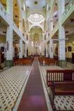Interior of Jesus De Nazarene Church In El Prado district in Med stock photo