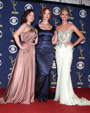 January Jones,Christina Hendricks,Elisabeth Moss,CHRISTINA HENDRICK Stock Photos