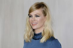 January Jones. At the Hammer Museum Gala In The Garden held at the Hammer Museum in Westwood, USA on October 14, 2017 Stock Image