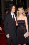 January Jones,Josh Groban Royalty Free Stock Images