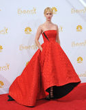 January Jones. LOS ANGELES, CA - AUGUST 25, 2014: January Jones at the 66th Primetime Emmy Awards at the Nokia Theatre L.A. Live downtown Los Angeles Royalty Free Stock Images