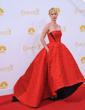 January Jones. LOS ANGELES, CA - AUGUST 25, 2014: January Jones at the 66th Primetime Emmy Awards at the Nokia Theatre L.A. Live downtown Los Angeles Stock Photos