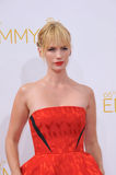 January Jones. LOS ANGELES, CA - AUGUST 25, 2014: January Jones at the 66th Primetime Emmy Awards at the Nokia Theatre L.A. Live downtown Los Angeles Stock Images
