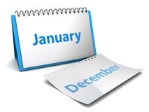 January month Royalty Free Stock Images
