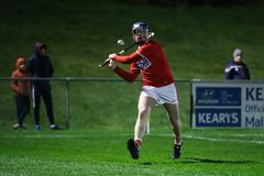 Co-Op Superstores Munster Hurling League 2019 match between Cork and Waterford at Mallow GAA Sports Complex. January 2nd, 2018, Mallow, Ireland - Co-Op royalty free stock images