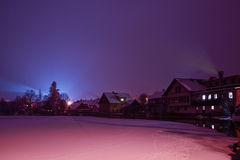 January night Stock Photography
