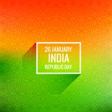 26 january republic day vector design Royalty Free Stock Photos