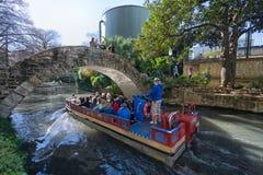 River cruise in San Antonio Texas Stock Photos
