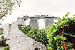 15 January 2016, Singapore - Marina Bay Sands hotel Royalty Free Stock Image