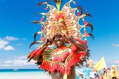 January 10th 2016. Boracay, Philippines. Festival Ati-Atihan. U Stock Photo
