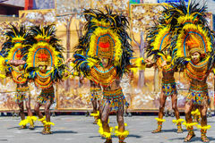 January 24th 2016. Iloilo, Philippines. Festival Dinagyang. Unid Royalty Free Stock Photos