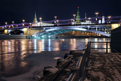 January view to the Moscow Kremlin Royalty Free Stock Photography