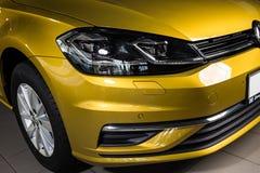 19 of January, 2018 - Vinnitsa, Ukraine. Volkswagen VW Golf pres
