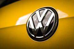 19 of January, 2018 - Vinnitsa, Ukraine. Volkswagen VW Golf pres Stock Images