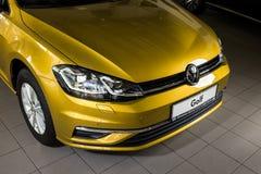 19 of January, 2018 - Vinnitsa, Ukraine. Volkswagen VW Golf pres Royalty Free Stock Photography