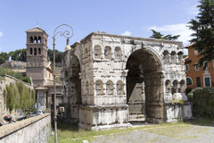 Janus's Arch, Rome Royalty Free Stock Photography