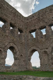 Janus temple, Autun, burgundy, France Royalty Free Stock Photo