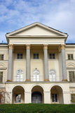 Janusevec castle, detail. Janusevec castle, located in Prigorje Brdovecko, near Zagreb. It is the highest achievement of the classicist architecture in Croatia Stock Images