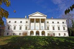 Janusevec castle. Located in Prigorje Brdovecko, near Zagreb. It is the highest achievement of the classicist architecture in Croatia stock image