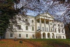 Janusevec slott royaltyfria foton