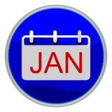 Janvier Photos libres de droits