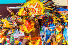 24 janvier 2016 Iloilo, Philippines Festival Dinagyang Unid Images stock