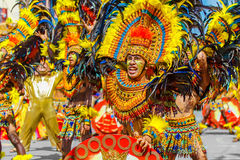 24 janvier 2016 Iloilo, Philippines Festival Dinagyang Unid Photo libre de droits