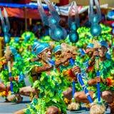 24 janvier 2016 Iloilo, Philippines Festival Dinagyang Unid Images libres de droits